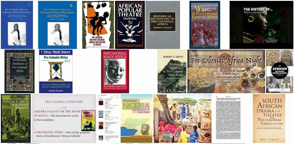 Africa Pre-colonial literature