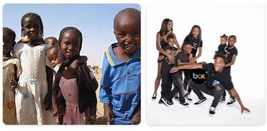 Chad Population 2014