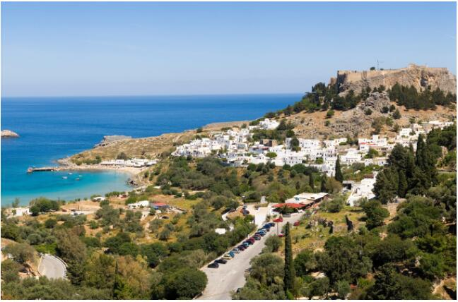 Lindos is one of the main attractions of the whole island of Rhodes