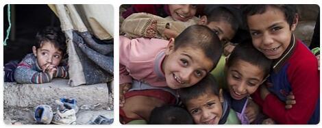 Syria Population 2014