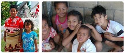 Tonga Population 2014