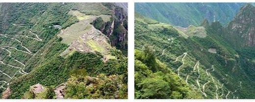 Carretera Hiram-Bingham in Peru
