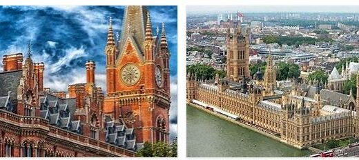 England Important Monuments