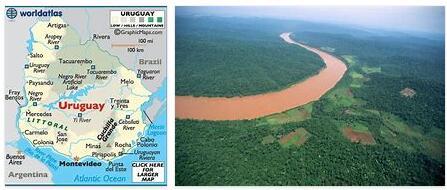 Uruguay Geography